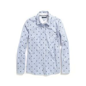 Tommy Hilfiger Anchor Embroider Oxford Button-Down